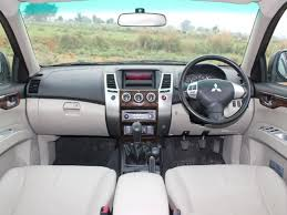 mitsubishi pajero interior 2016 2013 mitsubishi pajero sport v6 review and price driving in line