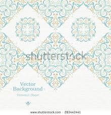 Border Designs For Birthday Cards Vector Baroque Border Victorian Style Element Stock Vector