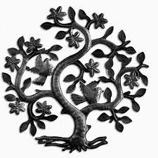 crafty inspiration metal wall trees tree of haiti singing
