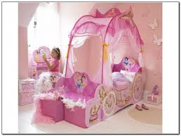 girls carriage bed disney princess 7 piece full carriage bed