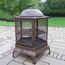 chiminea vs fire pit living antique pentagon chiminea fire pit review