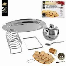 coffret ustensile cuisine coffret foie gras 5 pcs plateau pot cuillere lyre porte toast