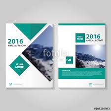 cover layout com green square vector business proposal leaflet brochure flyer