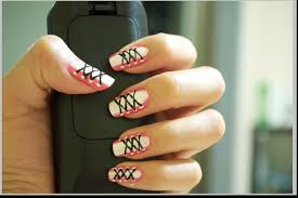 cool easy nail designs to do yourself easy way nail art with