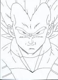 dragon ball vegeta drawing oxelon deviantart