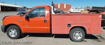2006 Ford F250 Utility Truck - 2006 ford f250 super duty xl utility bed pickup truck item