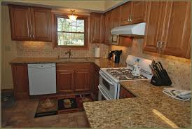 Hickory Kitchen Cabinets Hickory Kitchen Cabinets With Granite Countertops Home Design Ideas