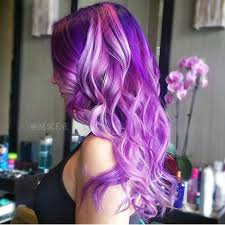 purple orchid and pink hair color by linh phan hair painting