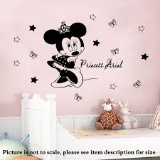 disney mickey mouse peeping car vinyl window decal sticker ebay disney minnie mouse crown personalised name vinyl wall stickers decals