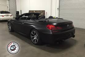 custom m6 bmw bmw m6 satin black car wrap wrap bullys
