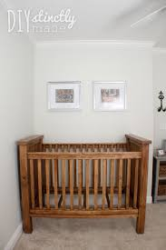 Free Diy Baby Crib Plans by Diy Crib U2013 Diystinctly Made