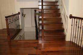How To Install Laminate Floor On Stairs Flooring Picture Displaying The Finishing Steps Of How To