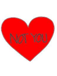 Heart Meme - not you heart meme tattoo metal prints by mynameisjeff redbubble