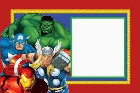 free printable avengers birthday party invitations stephenanuno com
