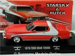 Ford Gran Torino Starsky And Hutch Starsky U0026 Hutch Ford Gran Torino Model Car 1 43 Scale Greenlight