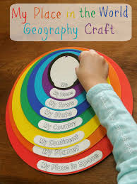 my place in the world geography craft review geography