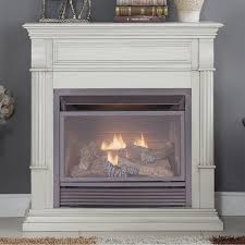 duluth forge dual fuel ventless gas fireplace 26 000 btu t stat