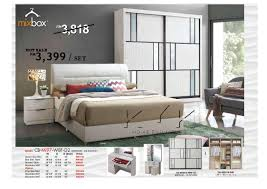 MIXBOX Furniture Mi Ft X Ft B End   PM - King size bedroom set malaysia