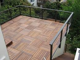 condo deck tiles how big and busy do you want your condo flooring