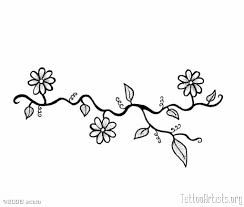 white daisy flowers tattoos on wrist all tattoos for men