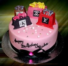 shopaholic born to shop shopping theme cakes cupcakes mumbai 4