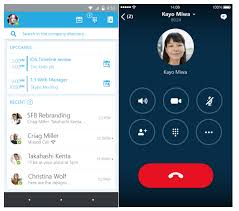 skype android app instant messaging skype for business information technologies