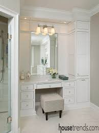 vanity bathroom ideas vanity bathroom makeup with design solving the space dilemma storage