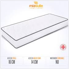 larghezza materasso singolo misure materassi singoli