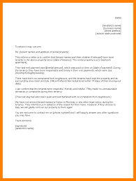 Consent Letter Format From Landlord 7 Tenant Reference Letter Resumes Great