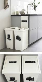 Kitchen Recycling Bins For Cabinets 5 Great Recycling Bins To Make Living Green Easier Small Spaces