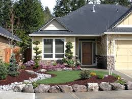 front yard landscape ideas for ranch style house the garden