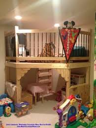 Play Bunk Beds Adorable Custom Bunk Bed With Canopy Juliet Balcony And Trundle