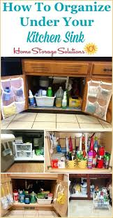 under kitchen sink storage solutions under kitchen sink cabinet coryc me