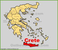 Map Of Crete Greece by Crete Maps Greece Maps Of Crete Island