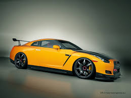 Nissan Gtr Yellow - nissan r35 wallpapers group 87