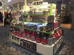 exn nutriton kiosk located inside of the sawgrass mills mall exn