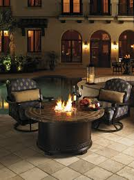 Patio Dining Sets With Fire Pits by Kingstown Sedona Fire Pit Lexington Home Brands