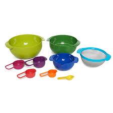 joseph joseph nest 9 plus mixing bowl and measuring cup set 9