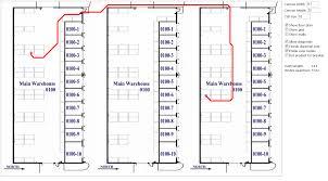 Floor Plan Of Warehouse by Warehouse Optimization U2013 M3 Ideas