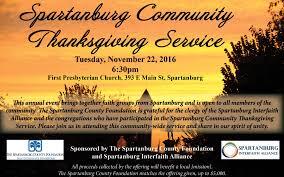 community thanksgiving service