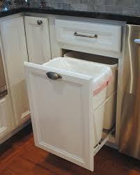 100 under cabinet trash can slider 25 best under sink bin