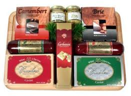 cheese and sausage gift baskets meat and cheese gift basket