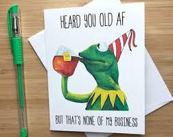 Funny Meme Cards - internet meme card etsy