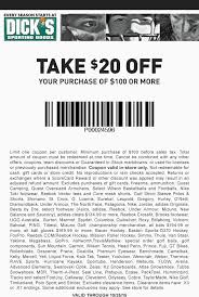 what time does dickssportinggoods open on black friday pinned october 25th 20 off 100 at sporting goods coupon