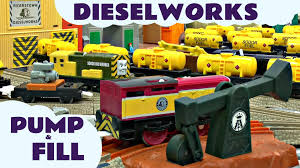 Tidmouth Sheds Trackmaster Ebay by Dieselworks Thomas The Train Trackmaster Pump And Fill Set Kids