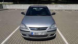 Opel Corsa 1 3 L Hečbekas 2004 06 M A5973735 Autoplius Lt