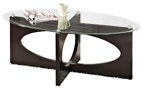 oval glass and wood coffee table oval glass top coffee table contemporary tables wonderful ideas