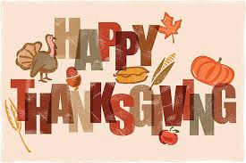 happy thanksgiving words clip vector images illustrations