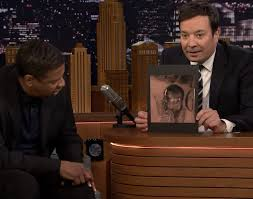 video denzel reacts to drake u0027s tattoo of his face u2013 z103 5