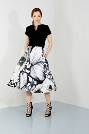 coast dresses sale lyst coast lazio print dress